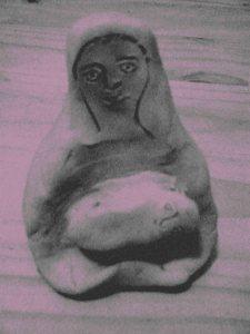 charcoal pieta