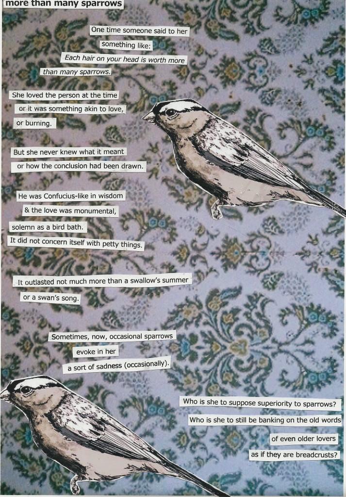 Dorothy sparrow poem