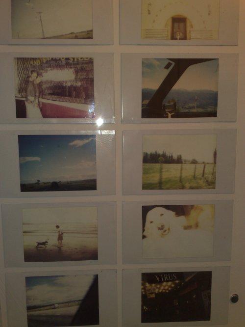 some polaroids